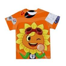 4-14 Year Boys Clothes Harajuku Cartoon Anime T-Shirt Summer Short Sleeve Printed Kids Tee Girl Shirt Baby Tops Children T-Shirt