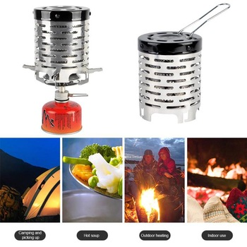 Mini Heater Outdoor Travel Camping Equipment Warmer Heating Stove Tent Radial Flame Heating Cover 1