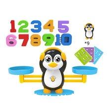 Montessori match jogo equilíbrio balança contagem brinquedos para o bebê crianças do jardim de infância número educacional diversão crianças presente aprendizagem