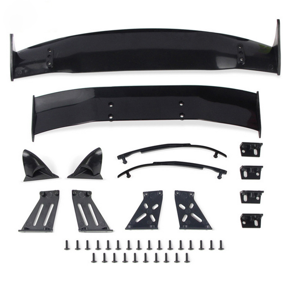Plastic Rear Wings Drift Road Body Spoiler Wing For 1/10 RC Racing Drift Car Universal Parts Accessories
