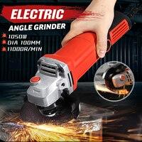 1600W Peaks 220 240V Angle Grinder 11000r/min Electric Grinder Polishing Polisher Grinding Machine Cutting Woodworking Tool