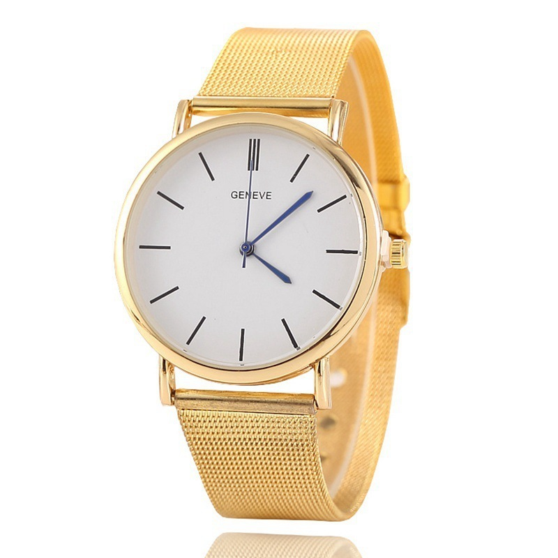 Popular Cross-border Popular Men's Ultra Thin Universal Quartz Watch Women's Small Fresh Taobao Fashion Student Watch