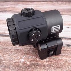 Tático g43 3x lupa escopo vista com interruptor para o lado sts qd montar apto para 20mm ferroviário rifle arma caça acessórios