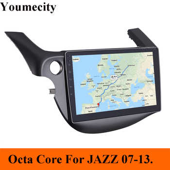 4GRAM/Eight Core/Android 8.1 Car Multimedia dvd Player For HONDA FIT JAZZ 2007-2013 Radio Video Audio Wifi 4G/New Arrival