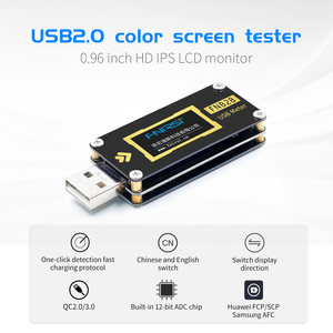 Image 2 - FNB28 Hiện Tại Và Đồng Hồ Đo Điện Áp USB Bút Thử QC2.0/QC3.0/FCP/SCP/AFC Sạc Nhanh Giao Thức Kích Hoạt công Suất Thử Nghiệm