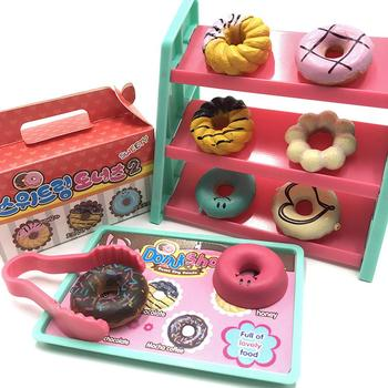 DIY Juguete donut Cocina alimentos simulan jugar tienda cajero modelo cumpleaños juguetes...