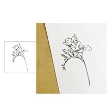 Jcarter Clear Stamps Fine Flower Rubber Transparent Silicone Scrapbooking Card Making Craft DIY Decoration New Stamp 2019