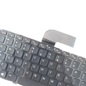 Image 2 - US Keyboard FOR DELL Inspiron 14R N4050 M4040 N4110 N4120 M4110 M521R 14R 5420 7420 15R 5520 SE US Backlight Notebook keyboard