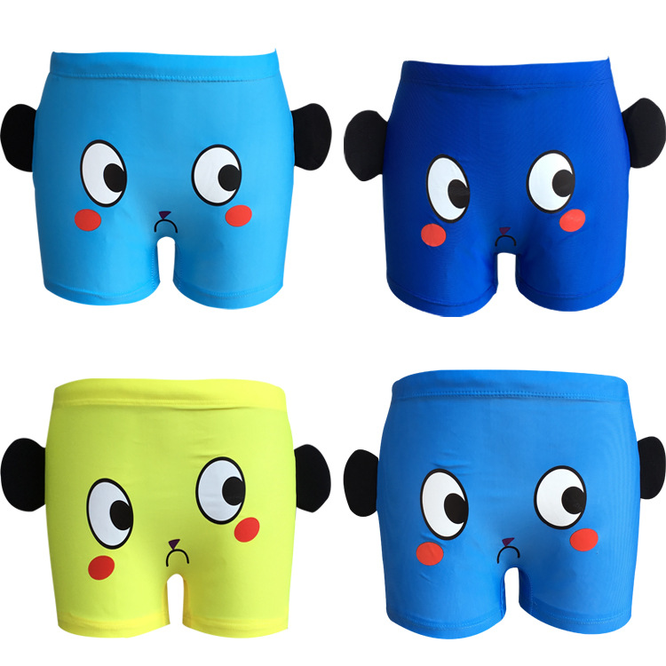Creative Hot Selling Kids Swimming Trunks BOY'S Small CHILDREN'S Children Baby 2-10-Year-Old Boxer Young Children Swimming Trunk