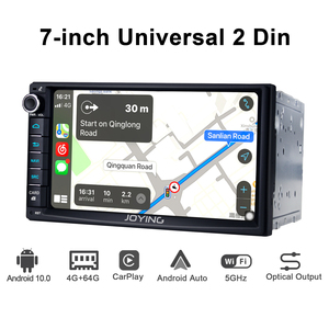 Image 3 - 2 din Car Radio player 7 inch universal head unit autoradio 4GB RAM+64GB Octa Core ROM support 4G/Carplay/Android auto/Fast Boot