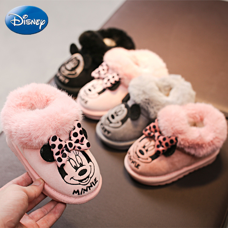 Disney Cartoon Cotton Shoes Minnie