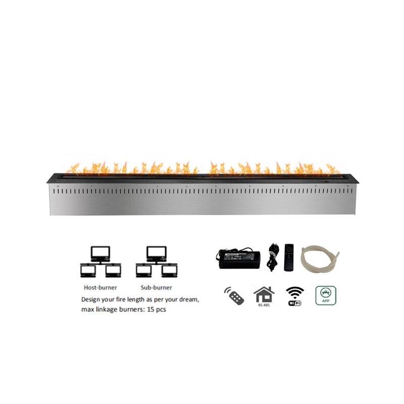 60 Inch Ethanol Indoor Smart Fireplace