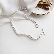 Элегантный кулон с искусственным жемчугом ожерелья для женщин