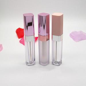 6,5 мл блеск для губ пустая бутылка для губ глазурь квадратная подводка для глаз трубка розовая Крышка карандаш для губ косметическая упаков...