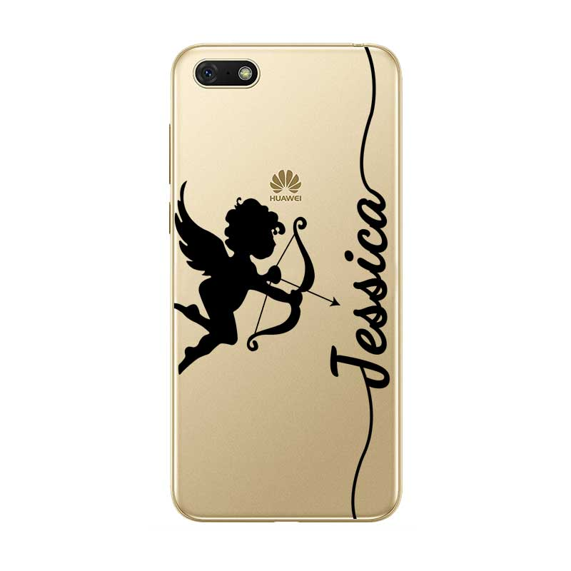 Custom Crown Your Name DIY Clear Soft Silicone Case Cover For Huawei Mate 8 9 10 20 Lite Pro Coque Capa in Fitted Cases from Cellphones Telecommunications
