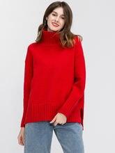 Новинка женский свитер на осень и зиму 2019 Повседневная стильная