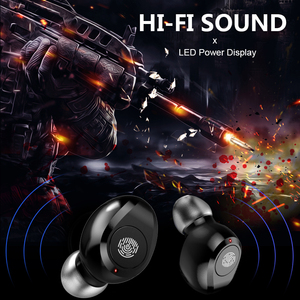 Image 5 - F9 tws wireless headphones V5.0 Touch bluetooth earphones LED Display sport Earbuds With 2000mah Power Bank Mic gaming headset