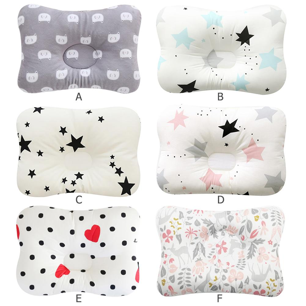 Muslin Head Protection Cushion Pillow Newborn Baby Pillows Animal Printed Cotton Kids Pillow Sleeping Shaping Pillows Dropship