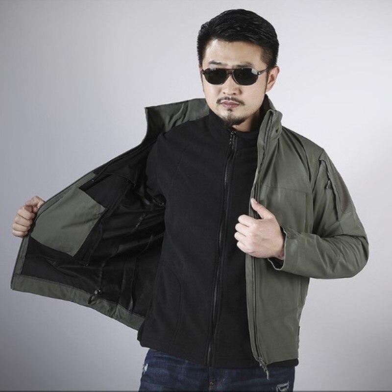 Весенняя Мужская Сверхлегкая тактическая Боевая куртка для походов и походов, зимний мужской свитер, флисовое пальто, внутренний бак Походные куртки      АлиЭкспресс