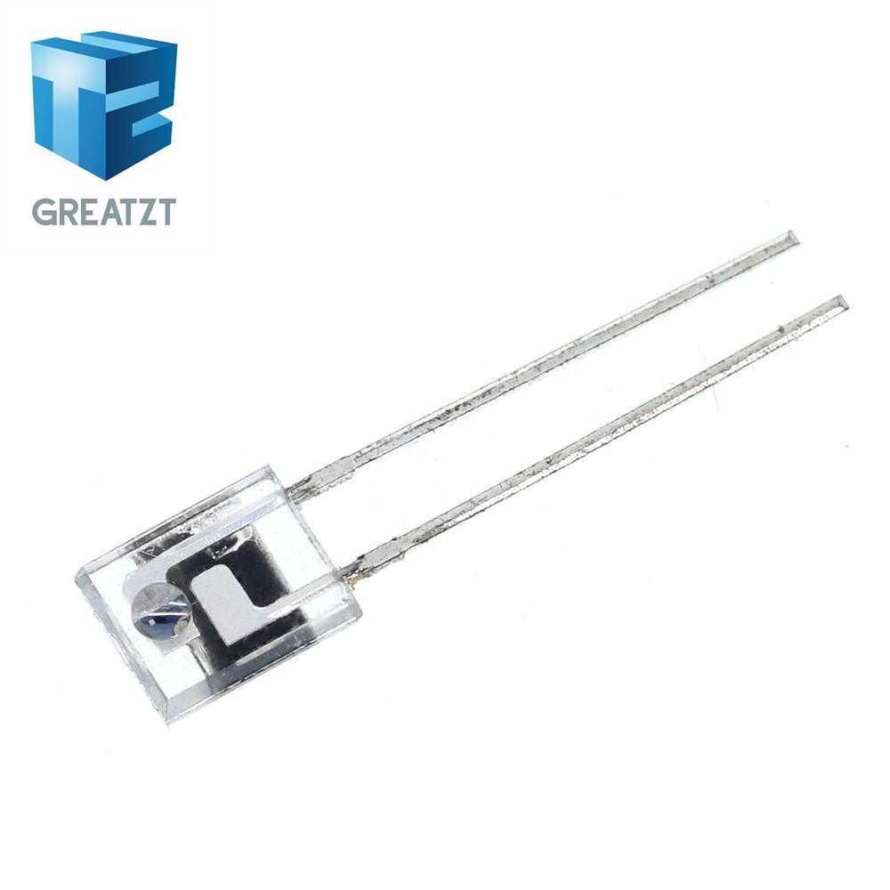 GREATZT PT908-7C-R 10 pçs/lote Marca original novo receptor infravermelho tubo receptor fotossensível diodo lado quadrado