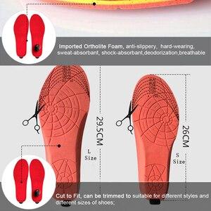 Image 5 - Yeni 2000mAh kablosuz ısıtma astarı kış sıcak ayakkabı tabanlık uzaktan kumanda pili şarj ısıtmalı tabanlık boyutu EUR 35 46 #