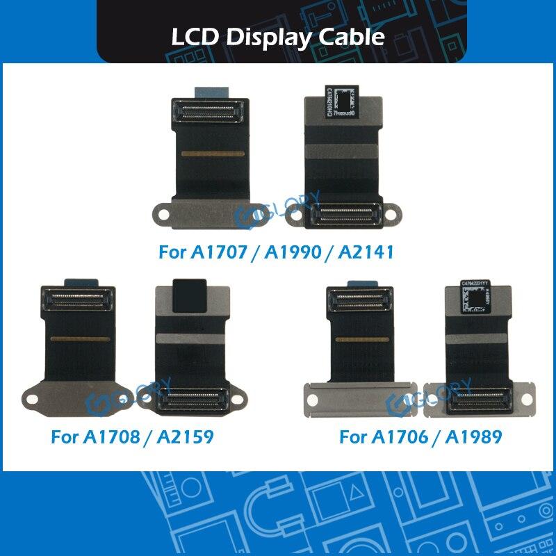 Новый ноутбук A1706 A1707 A1708 A1989 A1990 A2159 A2141 ЖК-дисплей светодиодный LVDs Экран Дисплей кабель
