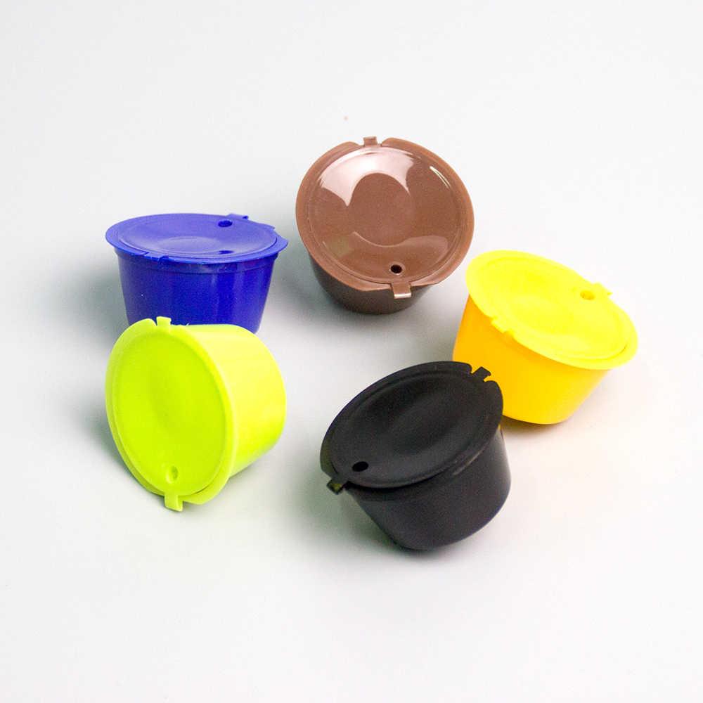 Neue Mehrweg fit für Dolce Gusto Kaffee Kapsel, Kunststoff Nachfüllbare Kompatibel Dolce Gusto Kaffee Filter Körbe Kapseln 1Pcs