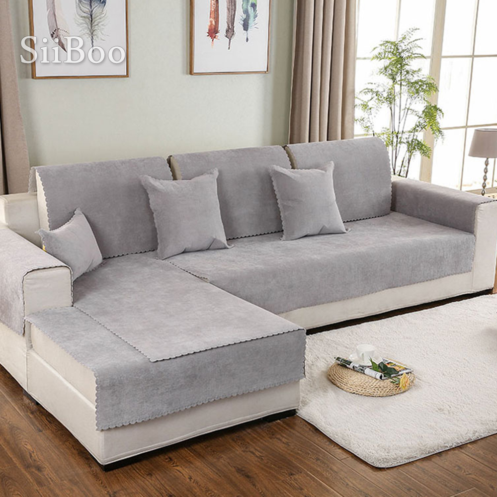 Sofa Cover Silica Gel Anti Slip Covers