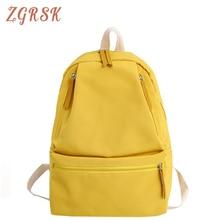 Women Nylon Back Pack School Bags For Teenagers Girl 2019 Female High Quality Fashion Backpack Bagpack Backpacks Bagpack