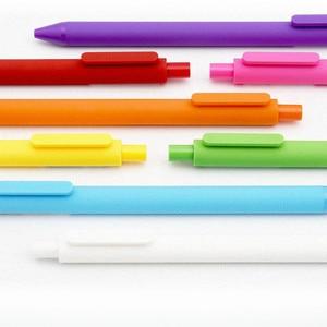 Image 5 - KACO قلم تسجيل 0.5 مللي متر Mijia ABS قلم بلاستيك الكتابة طول 400 متر للعمل والدراسة فرشاة ملونة كهدية للأطفال 12 ألوان