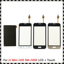 New High Quality 4.0'' For Samsung Galaxy J1 Mini J105 SM-J105F J105B J106 Lcd Display With Touch Screen Digitizer Sensor 10pcs lot for samsung galaxy j1 mini j105 j105h j105f j105b j105m sm j105f touch screen panel sensor digitizer glass touch