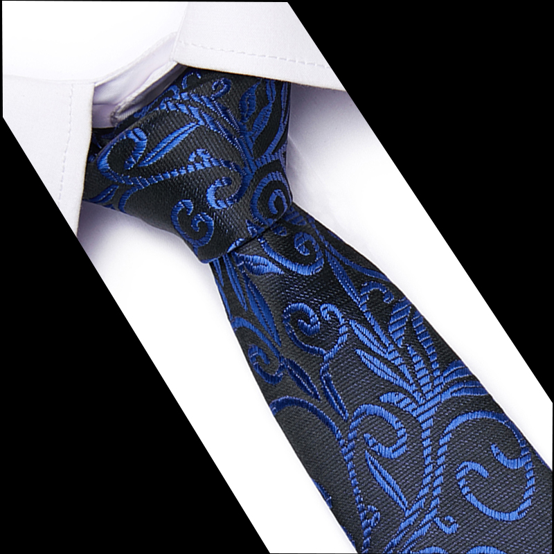 100% SilkFashion Jacquard Striped Necktie Gifts For Men Ties Designers Neck Tie Wedding Business Slim 7.5cm Skinny Tie
