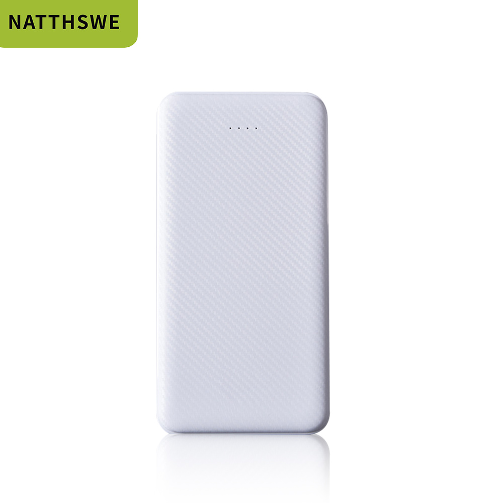NATTHSWE Power Bank 10000mah External <font><b>Battery</b></font> Backup <font><b>Pack</b></font> quick Charge Powerbank <font><b>10000</b></font> <font><b>Mah</b></font> Dual usb charger For iphone Xiaomi image