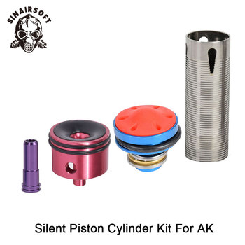 цена на Hot Sale MA 4pcs Cylinder Head /piston Head /nozzle /Cylinder Set For AK Series Airsoft AEG Hunting Accessories