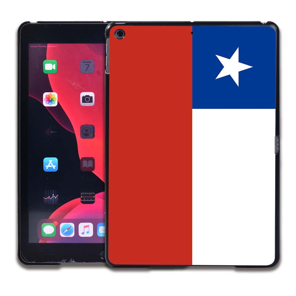 10.Chile flag MULTI Tablet Hard Back for Apple IPad 8 2020 8th Gen 10 2 A2270 A2428 Z2429 Z2430