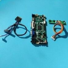 """Için LTN156AT02 D01 1366*768 Panel denetleyici kurulu 15.6 """"monitör ekran LCD ekran VGA LED kiti 40pin HDMI M.NT68676 DIY DVI"""