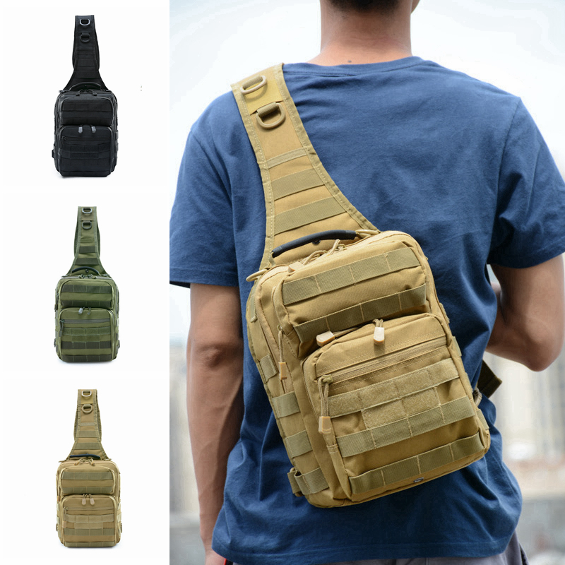 Tactical Shoulder Bag Outdoor Sports Camping Travel Trekking Hiking Molle Bag Military Tactical Hunting Backpack
