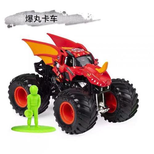 1: 64 оригинальные горячие колеса гигантские колеса Crazy Barbarism Монстр металлическая модель грузовика игрушки Hotwheels большая ножная машина детский подарок на день рождения - Цвет: c