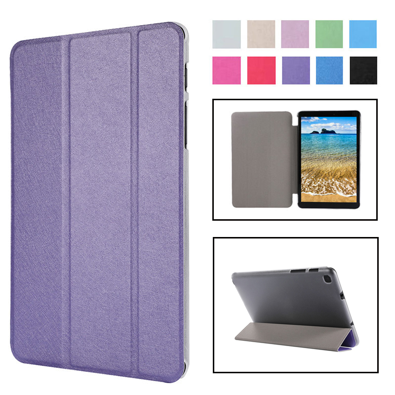Flip Case Cover For Samsung Galaxy Tab A 8.0 2019 SM-T295 T290 PU Slim Stand Case For Galaxy Tab A 8.0 T295 Tablet Funda Case