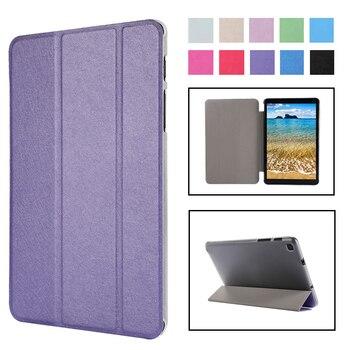 Funda con tapa para Samsung Galaxy Tab A 8,0 2019 SM-T295 T290 PU Delgada Funda con soporte para Galaxy Tab A 8,0 T295