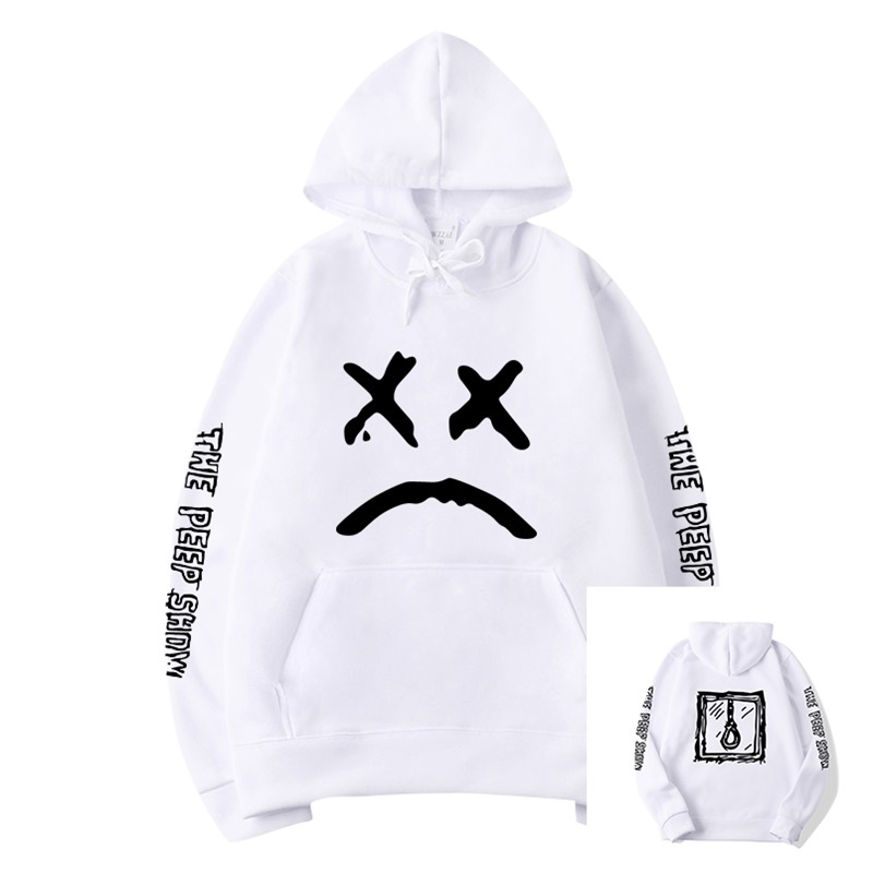 New 2020 Hot Brand Fashion Hoodies Lil Peep Printing Mens Winter Hoodies Tracksuit Male Female Sweatshirt Fashion Men Hoodies