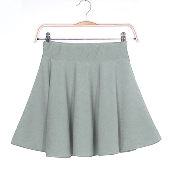 New New Women Skirt Sexy Mini Short Skirt Fall Skirts Womens Stretch High Waist Pleated Tutu Skirt SCI88 2