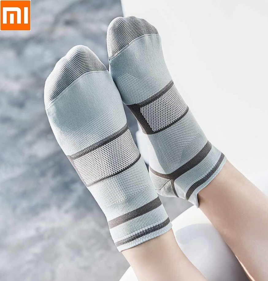 Xiaomi 90 FUN Sports Function Socks Breathable Comfort  Non-slip Hollow Silky Soft Warm Skin-friendly For Woman Female