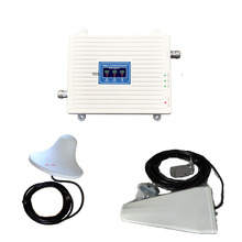 VOTK GSM DCS 3G tri אותות בוסטרים! נייד 2G 3G 4G אות משחזר 900 1800 2100 MHZ אות מגבר