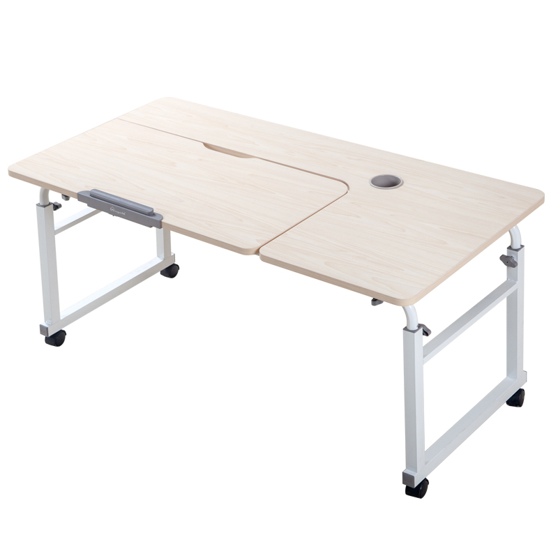 Lazy On The Bed Table Across The Bed Knee-type Household Folding Computer Desk Mobile Bed Writing Desk