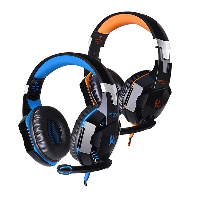 ZL  Profession Ear Headset Wired Headset With Mirophone Portable Audio And Video Device For Computer Games