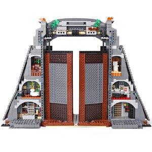 Image 5 - Создатель Юрского периода парк Rampage тираннозавр рекс набор совместим с 75936 строительные блоки кирпичи игрушка Рождественский подарок