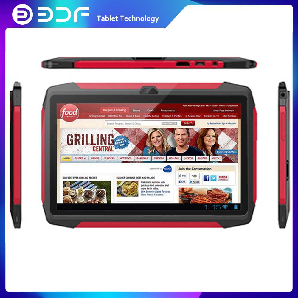 BDF Children's Best Gift 7 Inch Android 7.0 1GB +16GB Tablets PC WiFi Dual Camera Quad Core KIDS Tablet 1024*600 LCD Display