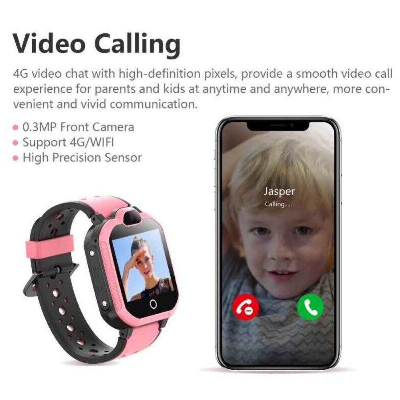 LT05 4G Smart Watch Phone GPS Kids Smart Watch Waterproof Wifi Antil-lost SIM Location Tracker Smartwatch HD Video Call