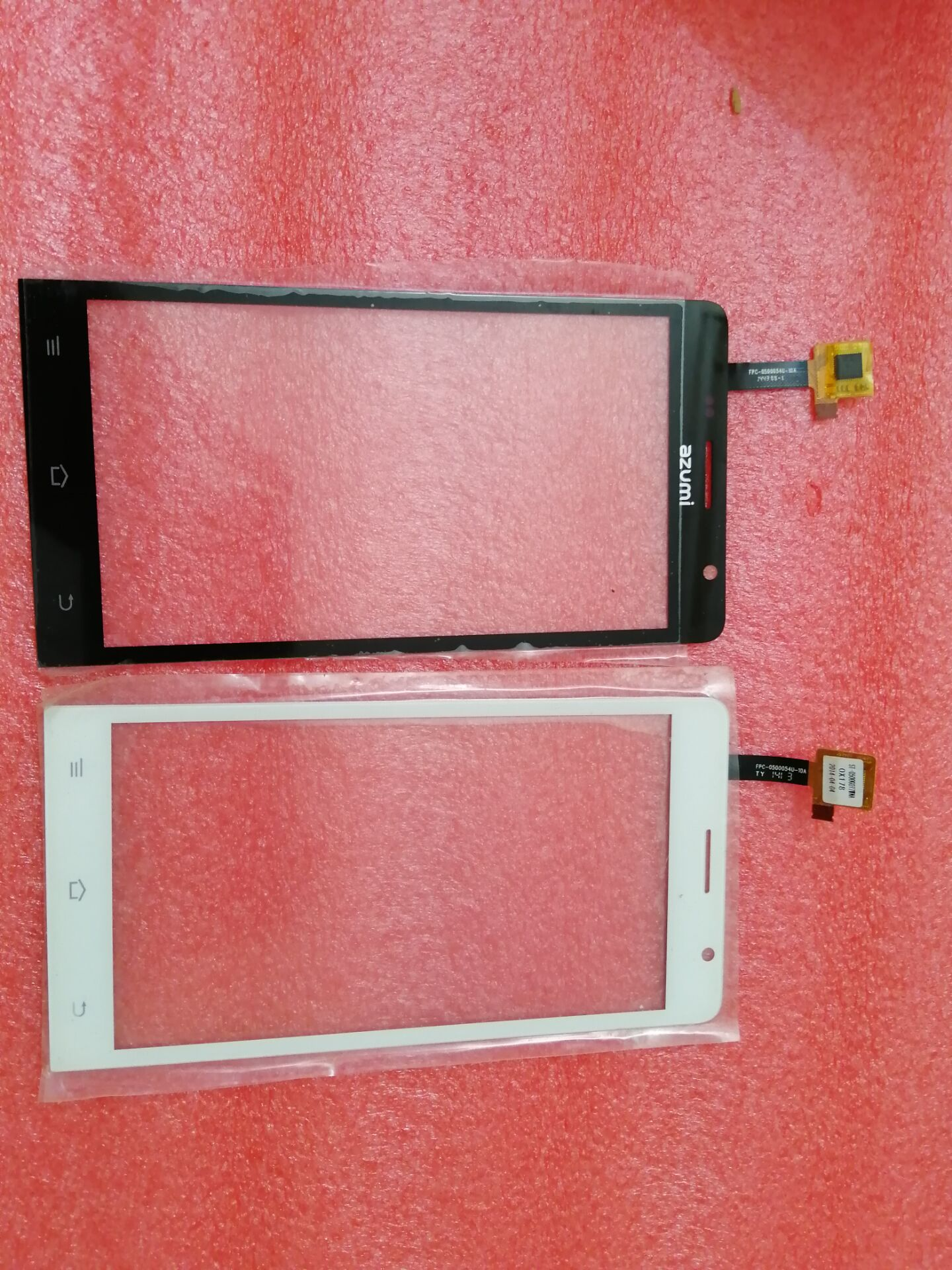 5.0 Inch Touch Screen Digitizer For Ark Benefit M3S Front Glass Sensor M3S Touchscreen Panel